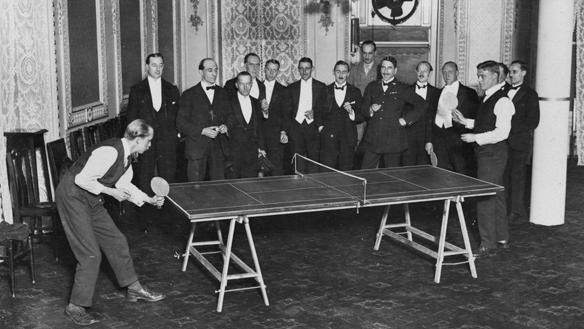 Tischtennis Geschichte